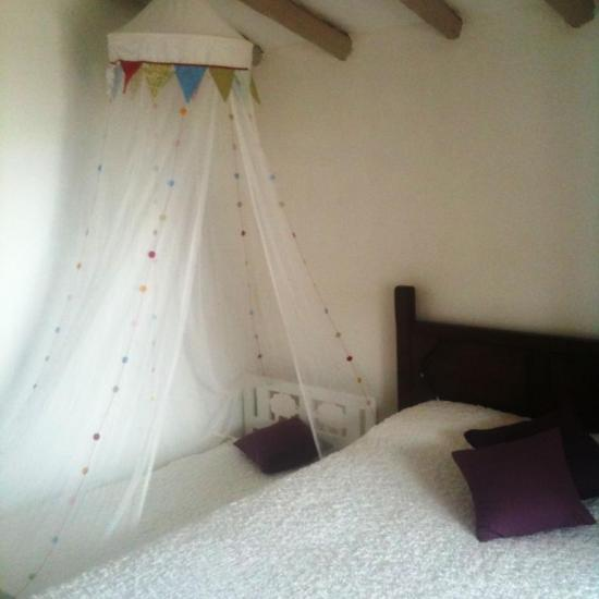 etnic room with child bed