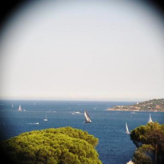 zoom sur la pointe de St Tropez