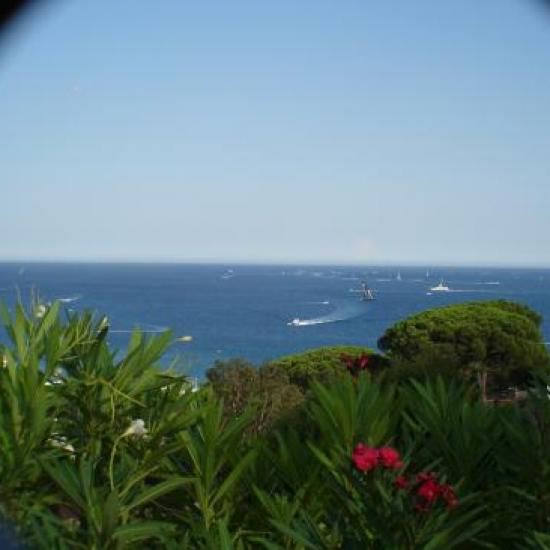 zoom sur le golfe de St Tropez
