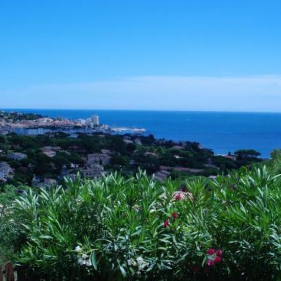 vue sur le port de Ste Maxime