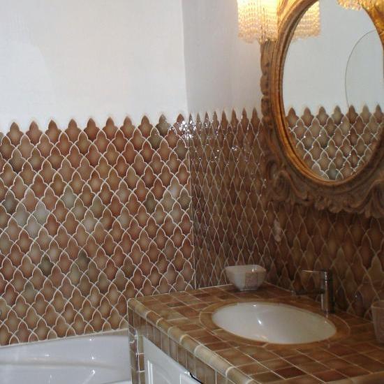 """salle de bains chambre """"romantique"""""""