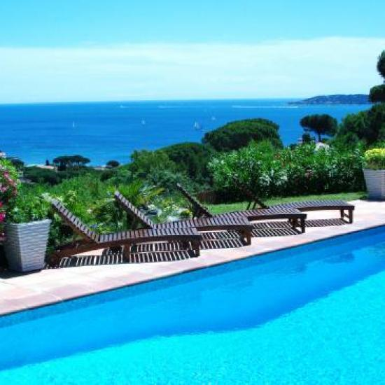 vue du golfe de St Tropez