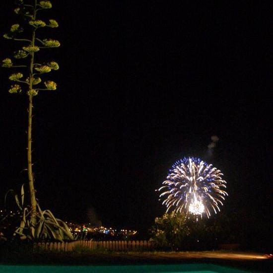 nocturne avec feu d'artifice été 2008